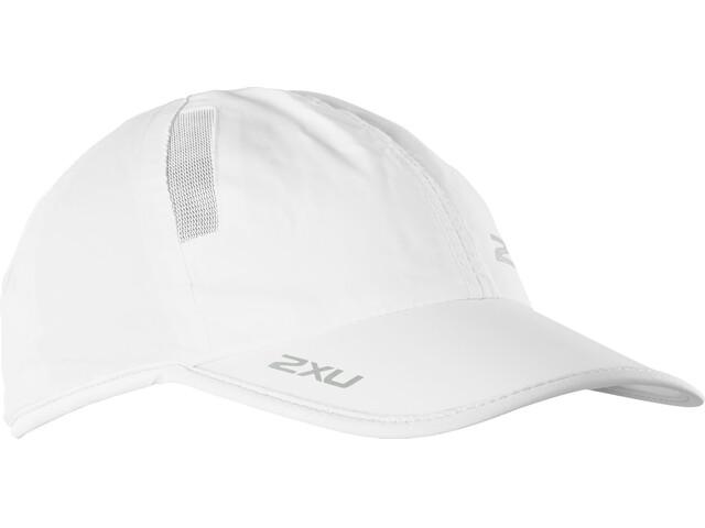 2XU Run Cap White/White